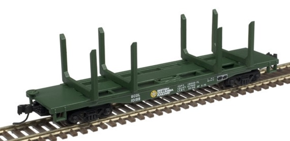 BCR Logging Flat Car