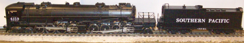 Southern Pacific Railroad - AC-7 Cab Forward