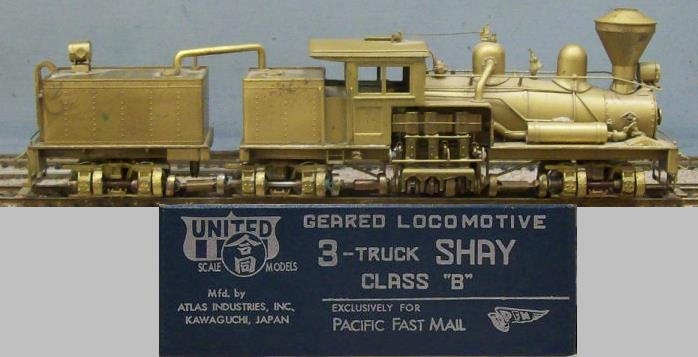 Undecorated - 3-truck Shay Class