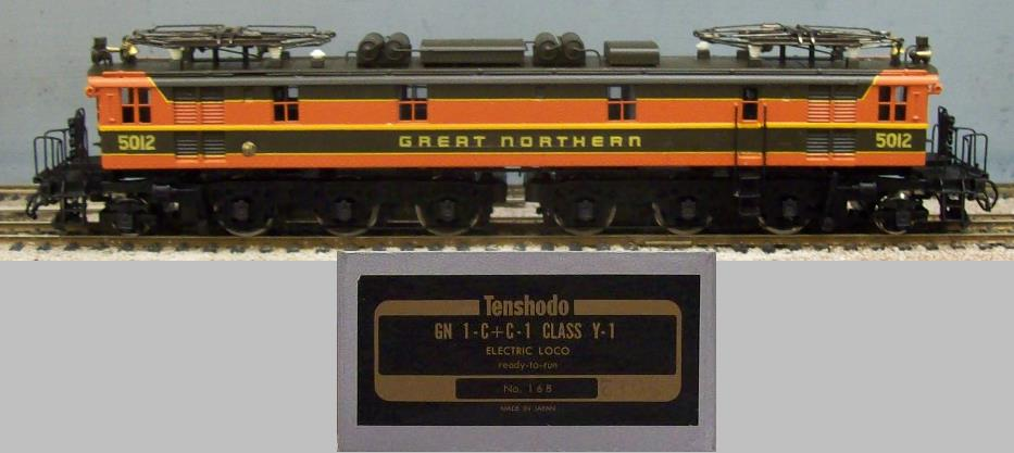 Great Northern Railway - GN 1-C+C-1 Class Y-1 Electric