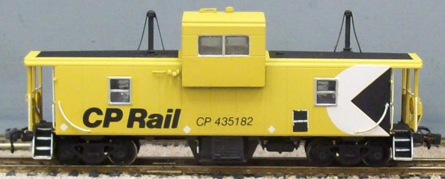 CP Rail - CPR Wide Vision Caboose