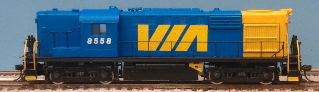VIA Rail - RS-18 painted as an RS-10