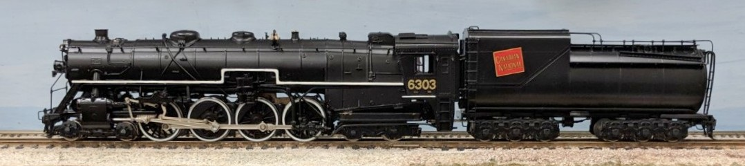 Canadian National Railway - ex GTW U3a Class, Reapinted CNR # 6303