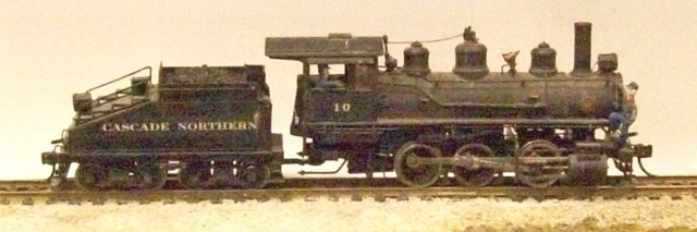 Cascade Northern - 0-6-0 Switcher