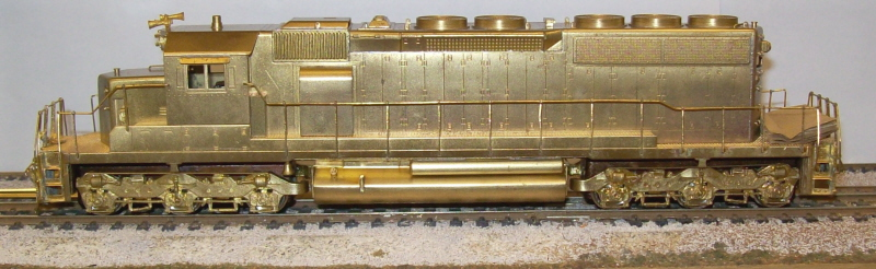 Undecorated - SD40-2 Short Nose