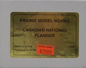 Canadian National Railway - Canadian National Flanger