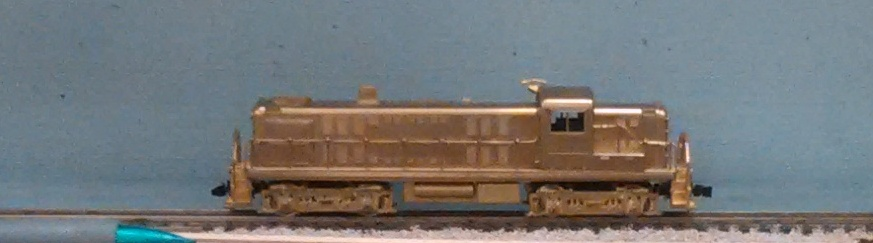 Undecorated - Alco RS-3 Diesel