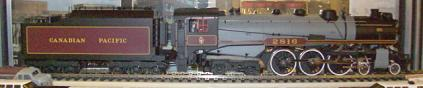 Canadian Pacific Railway - CPR H1a Hudson, 2-Rail, No Sound