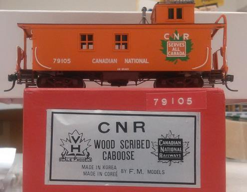 Canadian National Railway - CNR Wood Caboose
