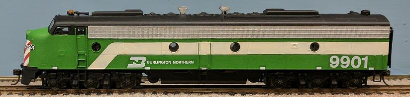 Burlington Northern - Burlington Northern E9A
