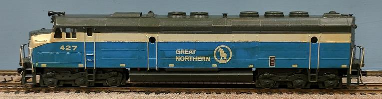 Great Northern Railway - Great Northern Big-Sky Blue EMD F- 45