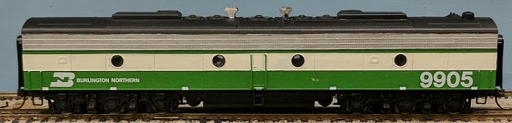 Burlington Northern - Burlington Northern E9B