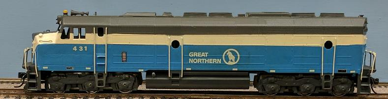 Great Northern Railway - Great Northern Big-Sky Blue EMD F-