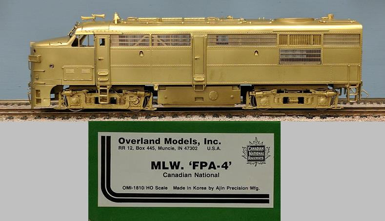 Canadian National Railway - MLW FPA-4
