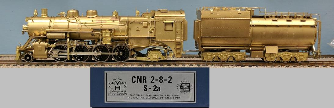 Canadian National Railway - CNR S-2s 2-8-2