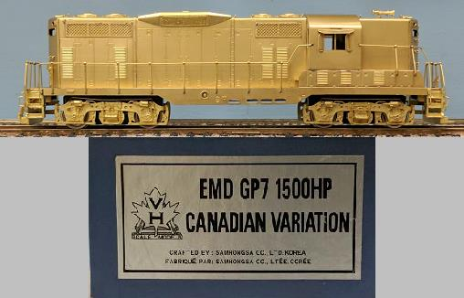 Canadian Pacific Railway - EMD GP7 1500HP Canadian