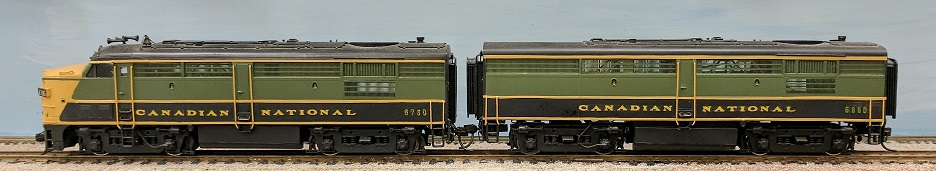 Canadian National Railway - Canadian National FPA4 + FBP- 4