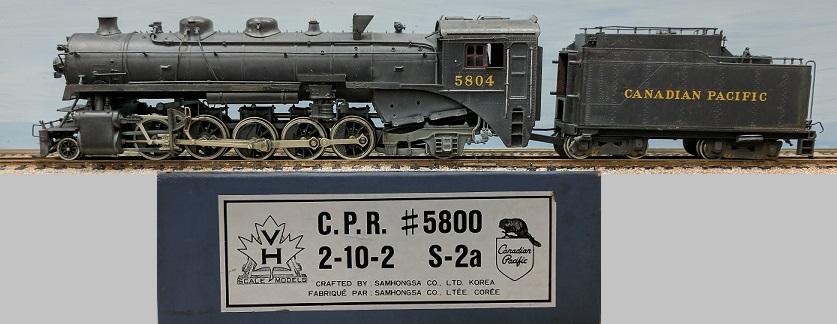 Canadian Pacific Railway - CPR #5800 2-10-2 Class S-2a