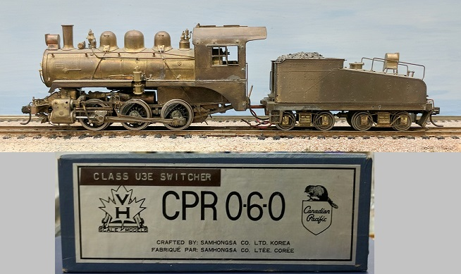 Canadian Pacific Railway - CPR Class U3e 0-6-0 Switcher