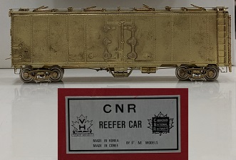 Canadian National Railway - CNR Steel Eight Hatch Reefer