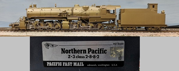 Northern Pacific Railway - Northern Pacific Z-3 Class 2-8-8-2