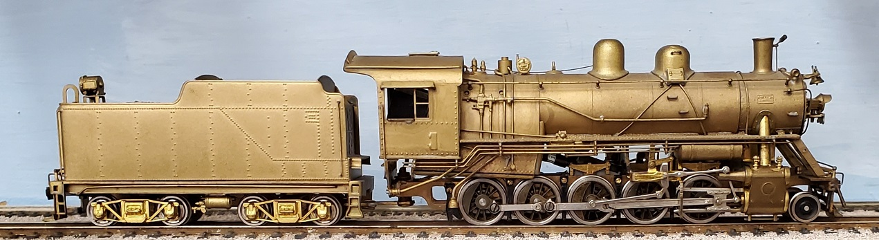 Misc - Russian (Frisco) Decapod 2-10-0. Missing Dog House on Tender