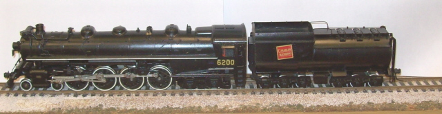 Canadian National Railway - Canadian National 4-8-4 Class