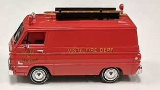 Dodge Fire Deparment Van