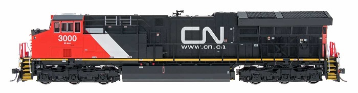 Cnr tier 4 Locomotive