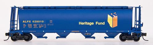 CPR Alberta Heriatge Grain Car.