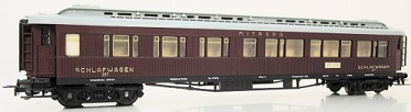 Liliput 267 Mitropa Sleeping Car