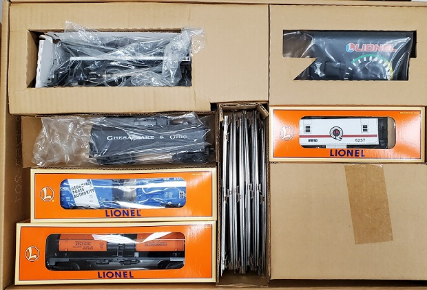 Lionel Train Set Contents