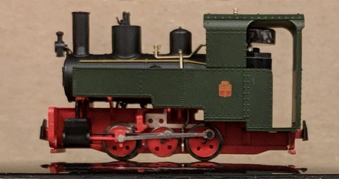 Decauville Progres Steam Locomotive Green