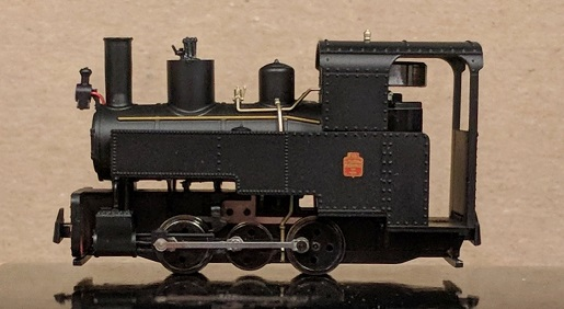 Decauville Progres Steam Locomotive Black