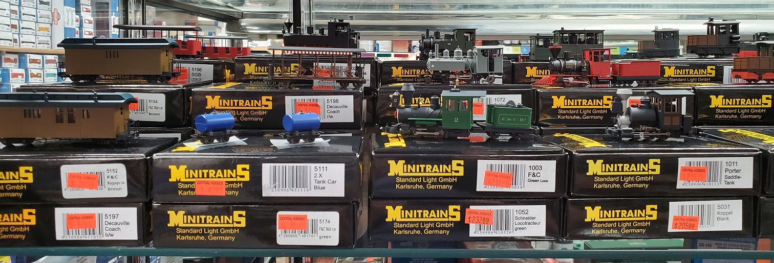 Left Side of MinitrainS Display