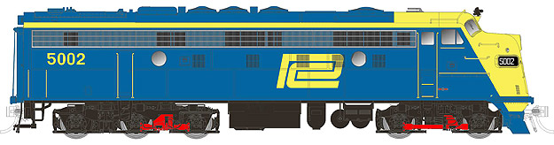Penn Central Blue & Yellow  FL9
