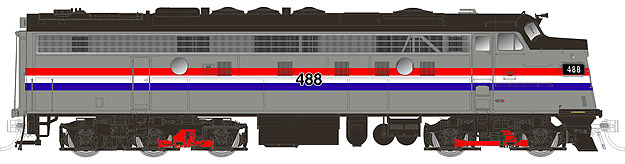 Amtrak (phase II) FL9