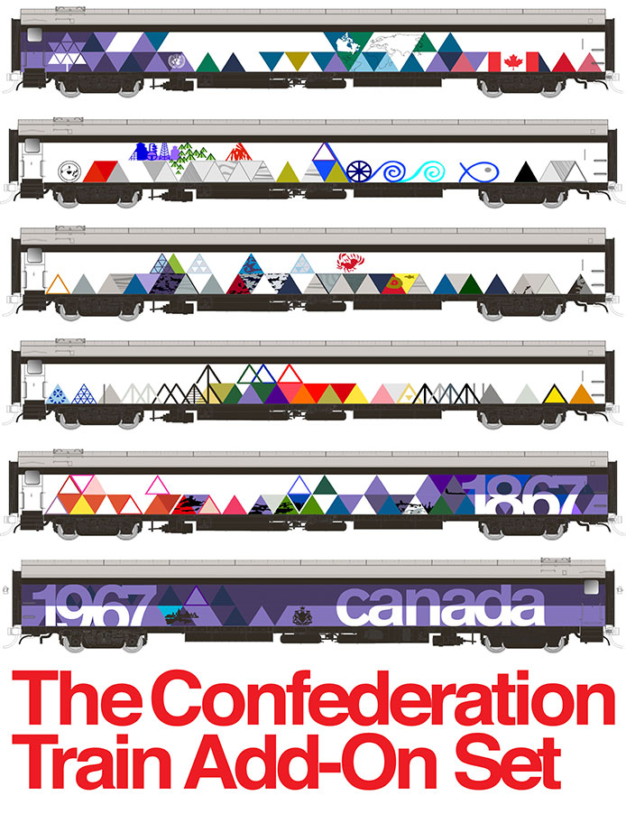 Confederation Train Add-On Set.