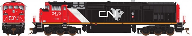 CN North America Dash 8
