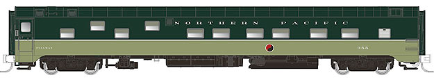 Northern Pacific Duplex Sleeper