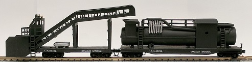 N-Scale CNR Snow melter