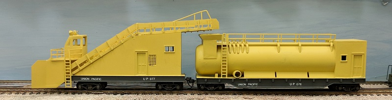 HO-Scale CNR Snow melter