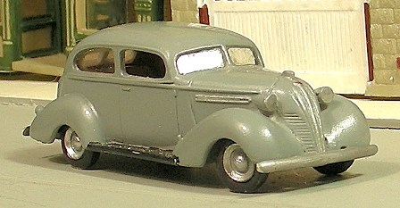 1937 HUDSON TERRAPLANE 2 DOOR W/TRUNK