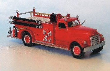 1950-53 GMC-LAFRANCE W/CLOSED CAB
